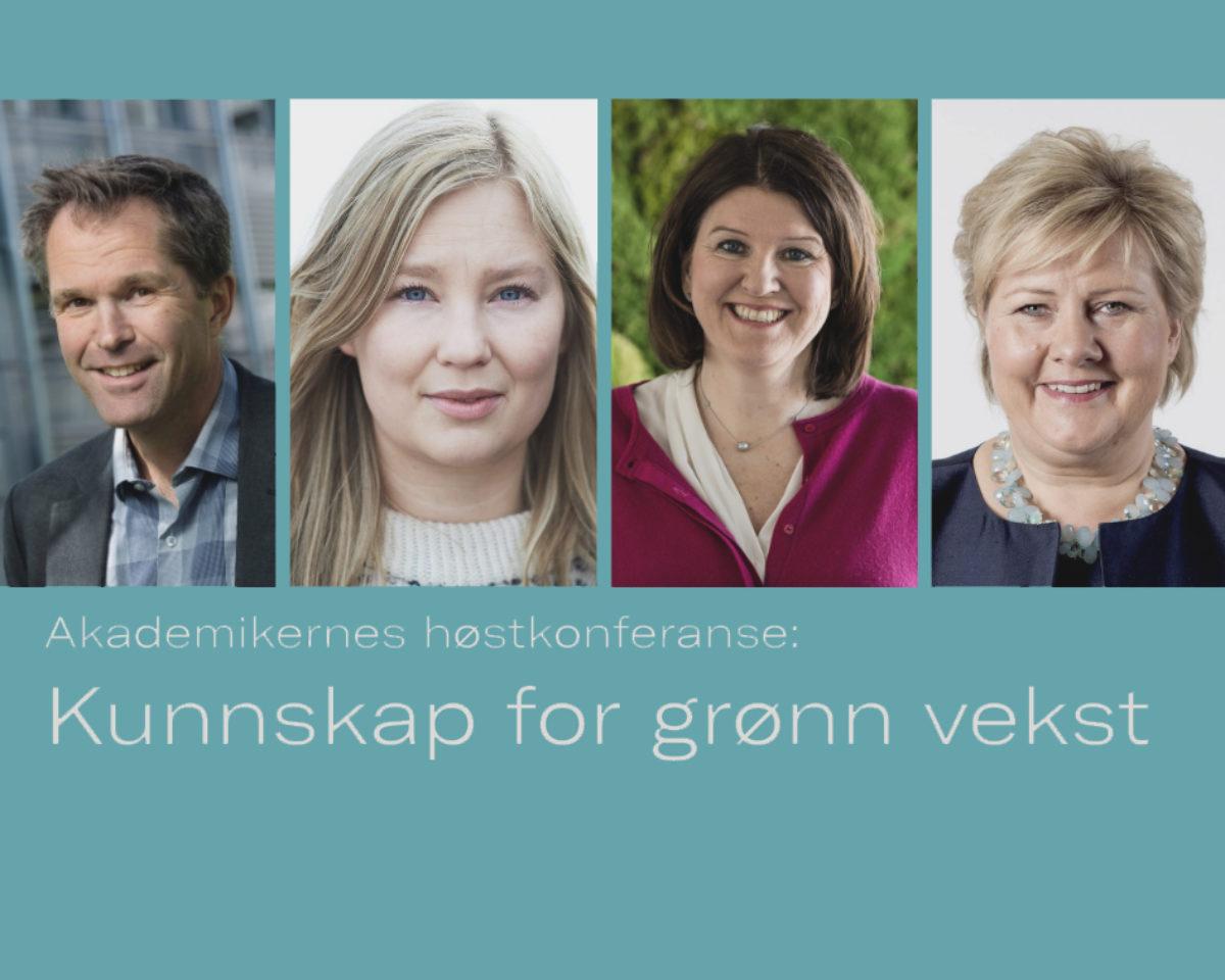Akademikernes høstkonferanse: Kunnskap for grønn vekst