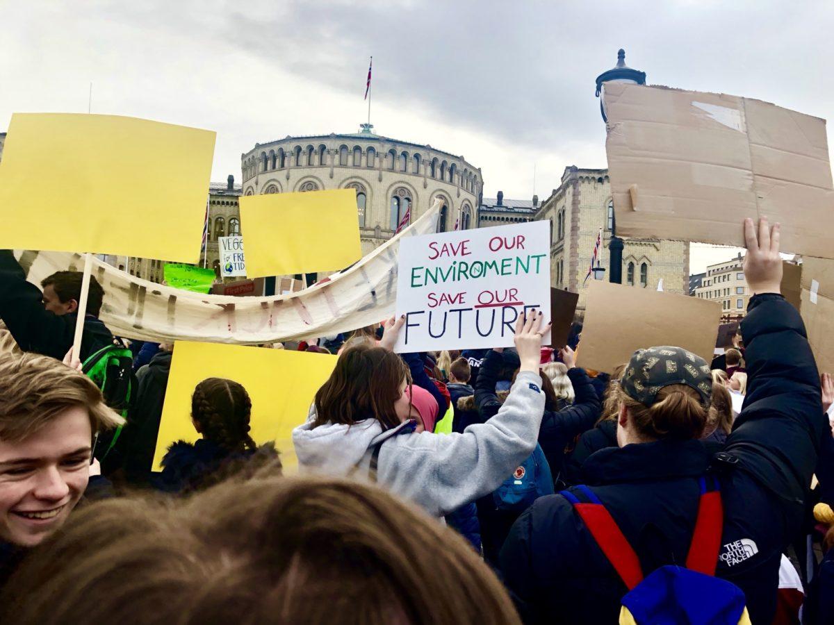 Akademikerne støtter klimastreikerne