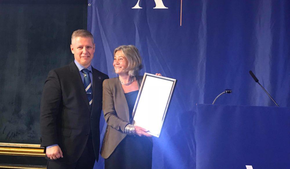 Akademikerprisen til menneskerettighets-psykolog