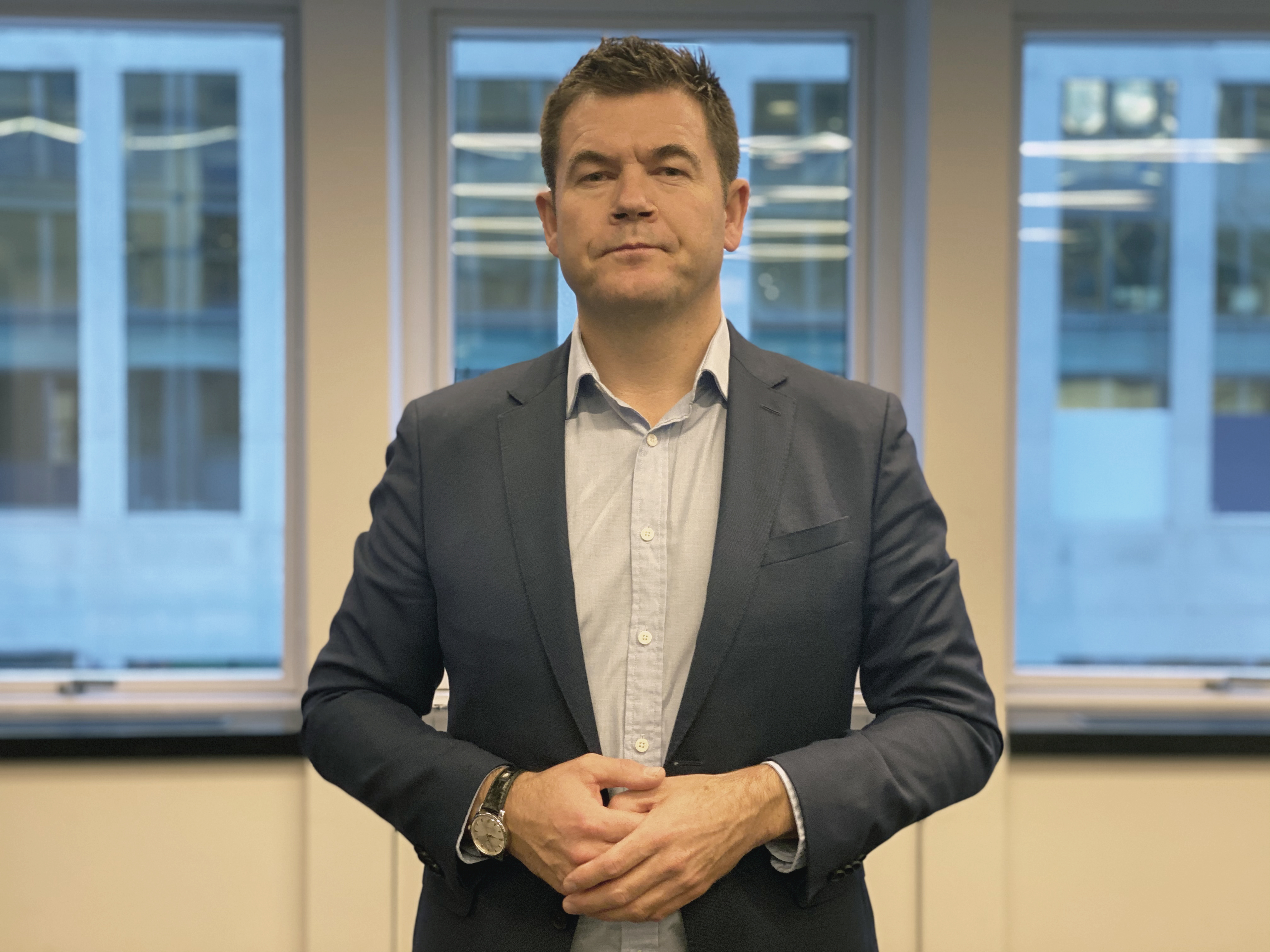 Forhandler Jan Olav Birkenhagen
