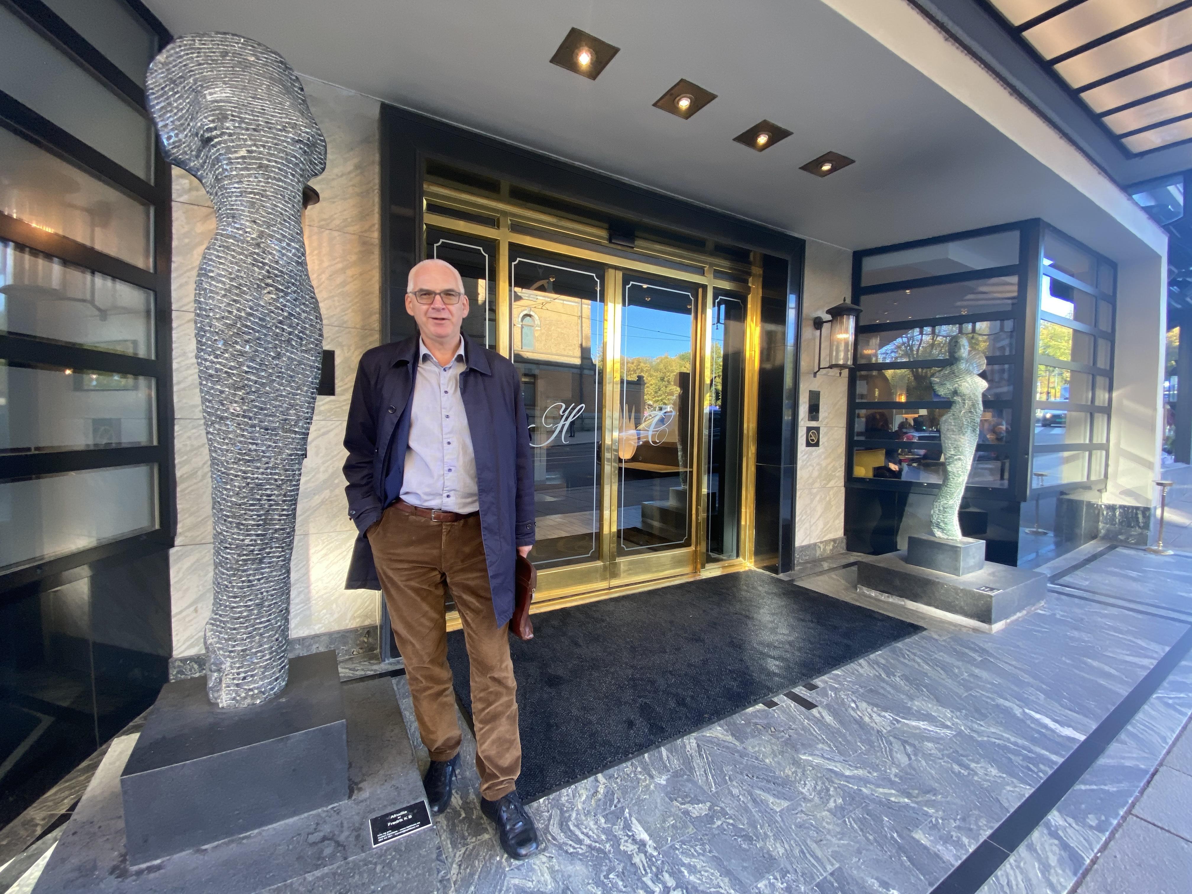 Forhandlingsleder Erik Graff