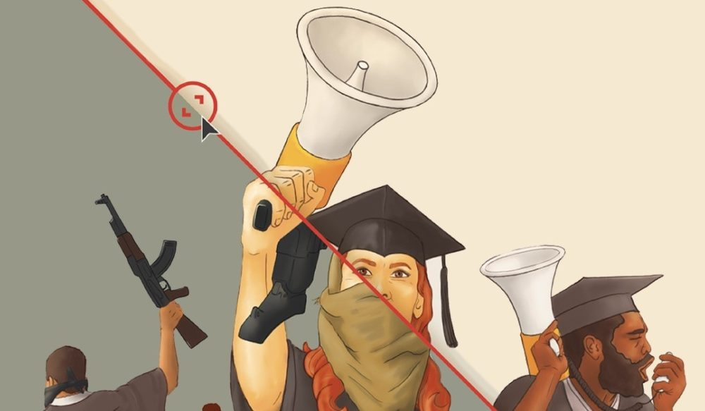 - Studentaktivister er helt sentrale i kampen for et bedre samfunn