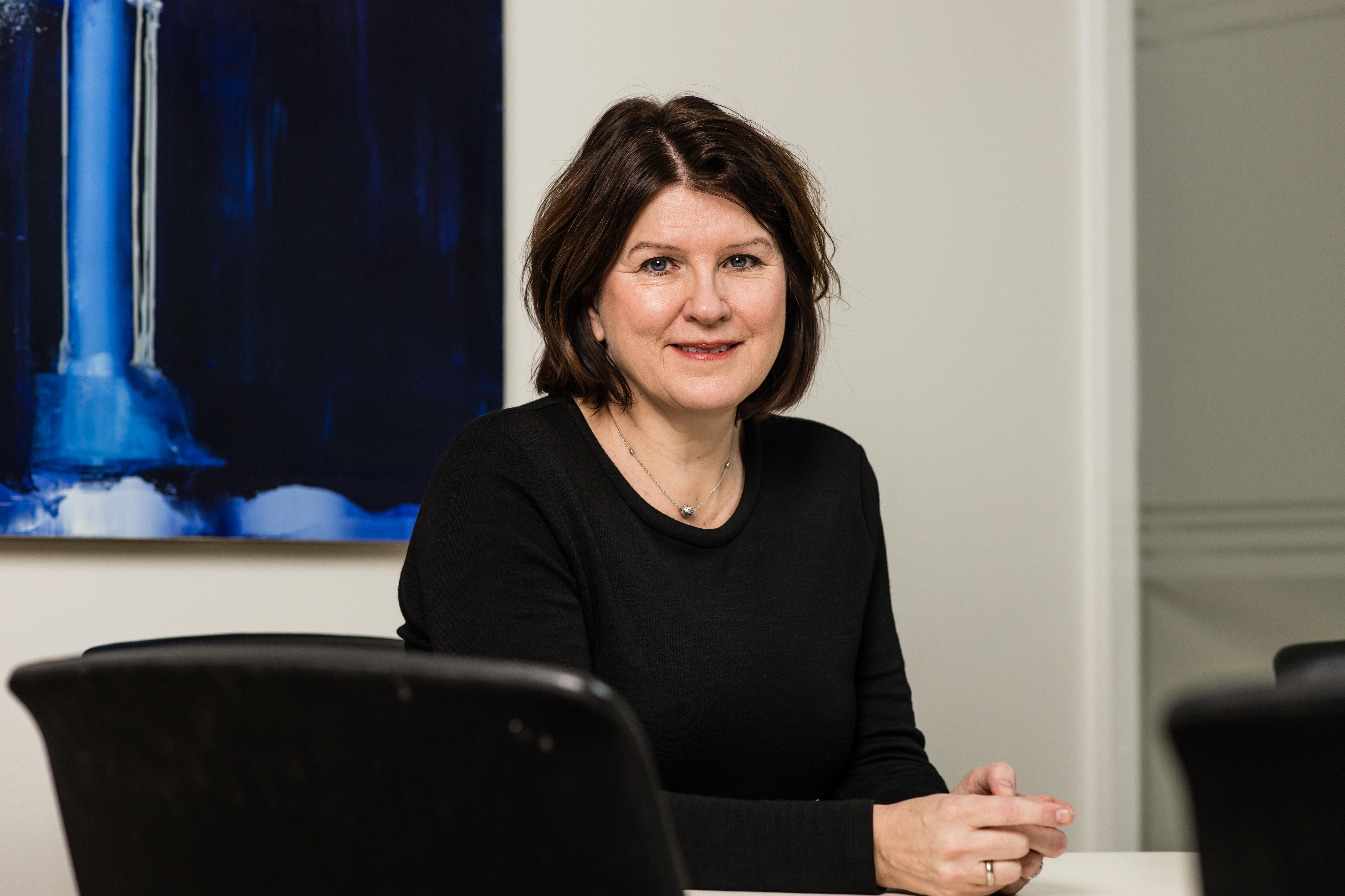 Leder i Akademikerne Kari Sollien