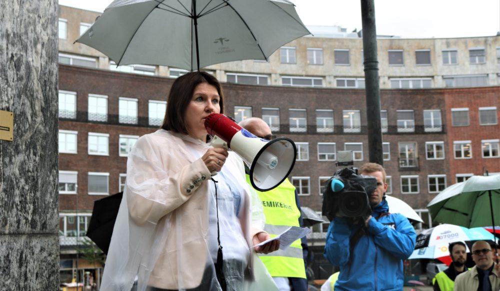 Kari Solliens appell til de streikende
