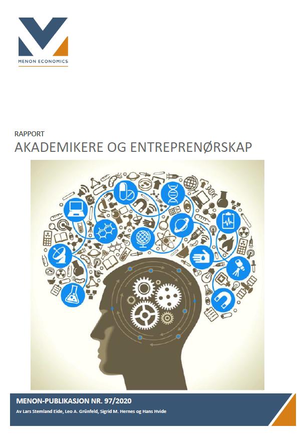 Menon: Akademikere og entreprenørskap